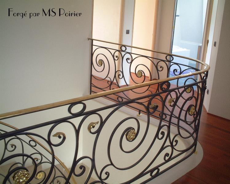 Le fer forg style louis xvi par mspoirier - Les plus beaux portails en fer forge ...