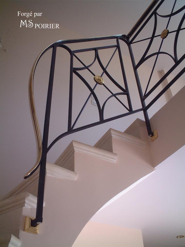 balustrade croisade ferronnerie contemporaine. Black Bedroom Furniture Sets. Home Design Ideas